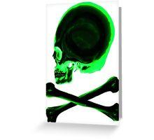 Pirate skull & crossbones Greeting Card
