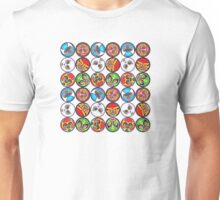 Rack'em and Stack'em Wrestlers Unisex T-Shirt