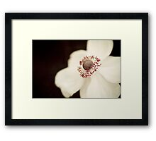 ~ If I may wander into the night ~ Framed Print