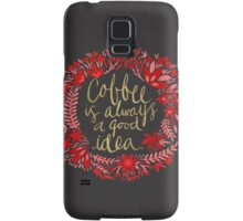 Coffee on Charcoal Samsung Galaxy Case/Skin