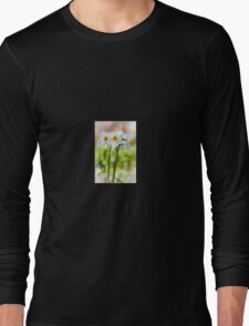 Happy Daffodils  Long Sleeve T-Shirt