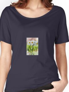 Happy Daffodils  Women's Relaxed Fit T-Shirt