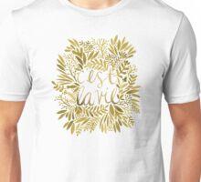 That's Life – Gold Unisex T-Shirt