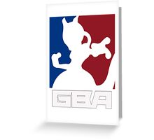 GBA - T-Shirt Greeting Card