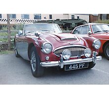 Austin Healey 3000 Photographic Print