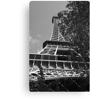 Eiffel Tower Rising Canvas Print