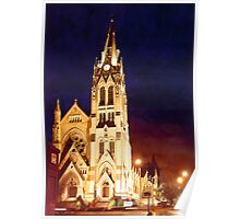 """St. Francis Xavier"" Watercolor Poster"