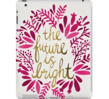 The Future is Bright – Pink & Gold iPad Case/Skin