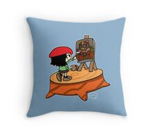 Mona Dededesa - Pillow Throw Pillow