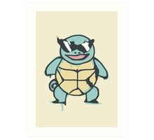 Ash's Squirtle (Squirtle Squad Leader) Art Print