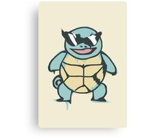 Ash's Squirtle (Squirtle Squad Leader) Canvas Print