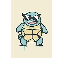 Ash's Squirtle (Squirtle Squad Leader) Photographic Print