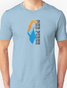 one piece swimsuit !!! :P T-Shirt