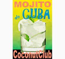 Mojito de Cuba Vintage Style Poster Unisex T-Shirt