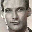 1960 My 1st passport photo by Woodie