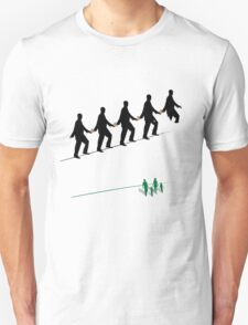 Clone stamped and walking the cash tightrope Unisex T-Shirt