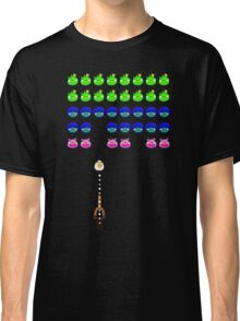 """Space Birds """"Angry Invaders"""" Classic T-Shirt"""