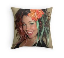 My new hairstyle May 2009 Throw Pillow