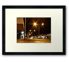 Bair Street Framed Print