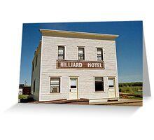 Hilliard Hotel, Ukrainian Cultural Heritage Village, near Edmonton, Alberta, Canada Greeting Card