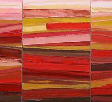 Flame Road 2 by Bernadette Smith by smithrankenART