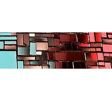 Multicoloured square 2 Photographic Print