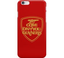 Arsenal FC : Come On You Gunners iPhone Case/Skin