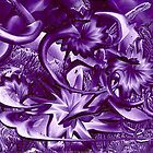 Purple Garden by Barry Moulton