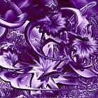 Purple Garden by Barry Moulton