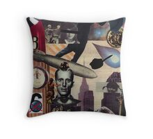 A Heavenly Dystopia Throw Pillow