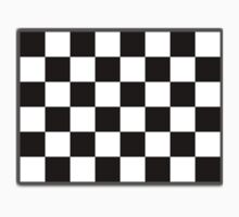 Checkered Flag, Racing Cars, Race, Finish line, BLACK Kids Clothes