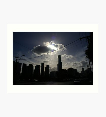 Afternoon Streetscape Art Print