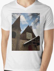 Gods Time Mens V-Neck T-Shirt