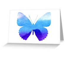 Watercolor Butterflies 3 Greeting Card