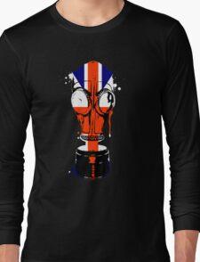 Mr.Foster KF2 gas mask Long Sleeve T-Shirt