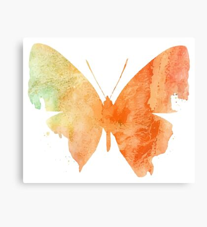 Watercolor Butterflies 4 Canvas Print