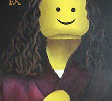 Lego Durer by curtain