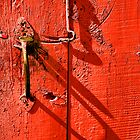 Old door by Valerii Baryspolets