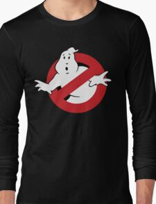 GhostBusters - OG Ghost Busting Logo Long Sleeve T-Shirt