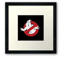 GhostBusters - OG Ghost Busting Logo Framed Print