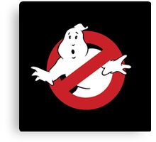GhostBusters - OG Ghost Busting Logo Canvas Print