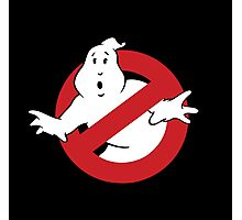 GhostBusters - OG Ghost Busting Logo Photographic Print