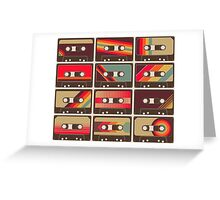 Mixed Tapes Greeting Card
