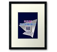 FUTURE TECHNOLOGY Framed Print