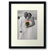 Michelle & Howard Framed Print