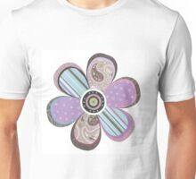 Flower Purple Unisex T-Shirt