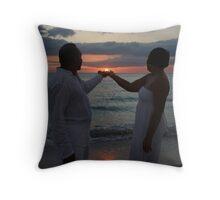 Holding the Sun Throw Pillow