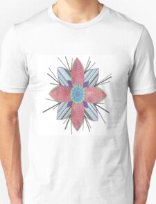 Flower Pink Unisex T-Shirt