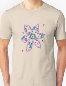 Bumblebee and Flower Tee T-Shirt
