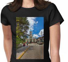 Central San Fernando - Ecuador - Watercolor Womens Fitted T-Shirt